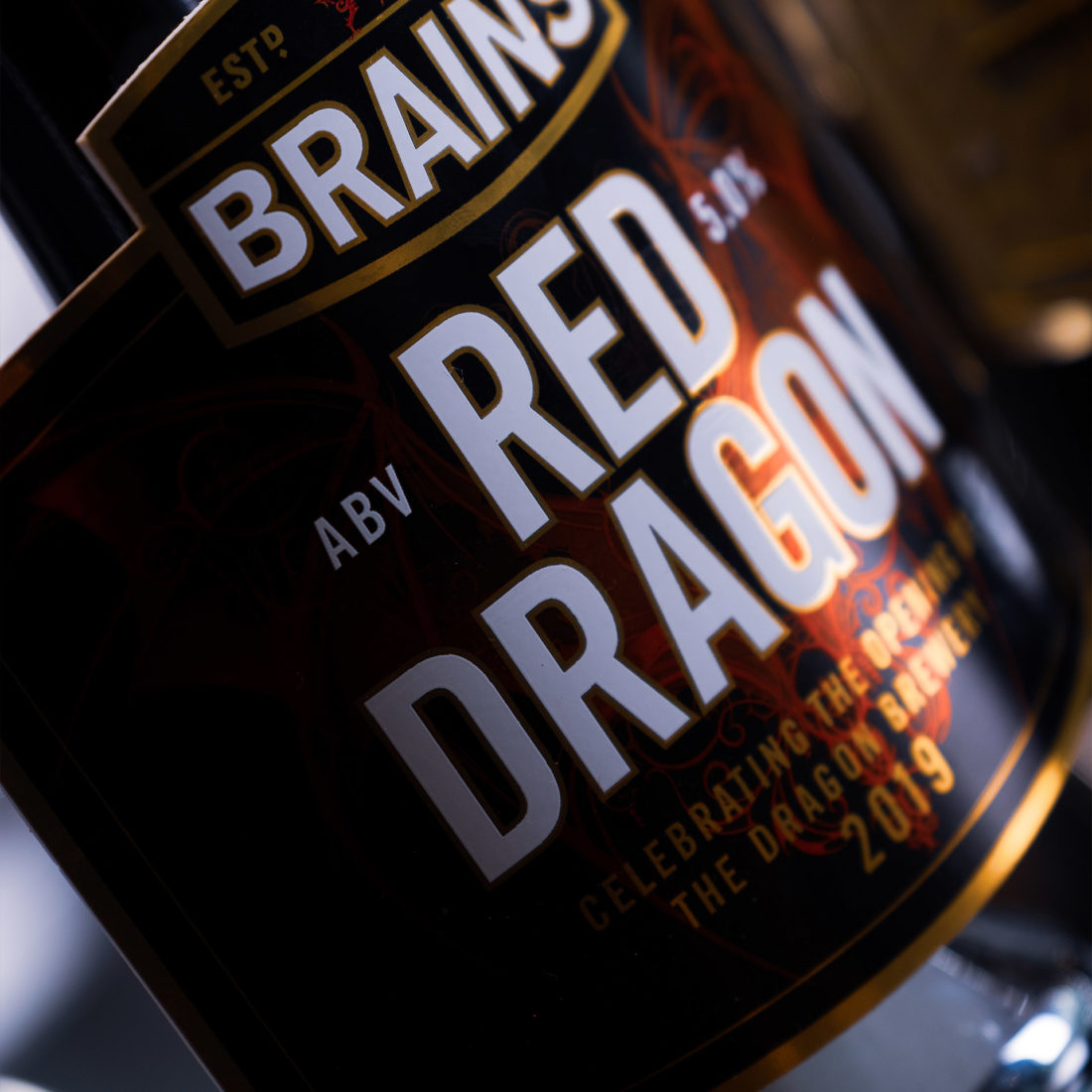 The Red Dragon pump-clip